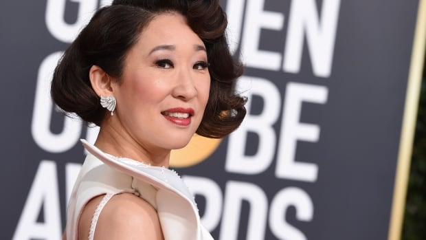 Canadian Sandra Oh wins best actress in a drama TV series at Golden
